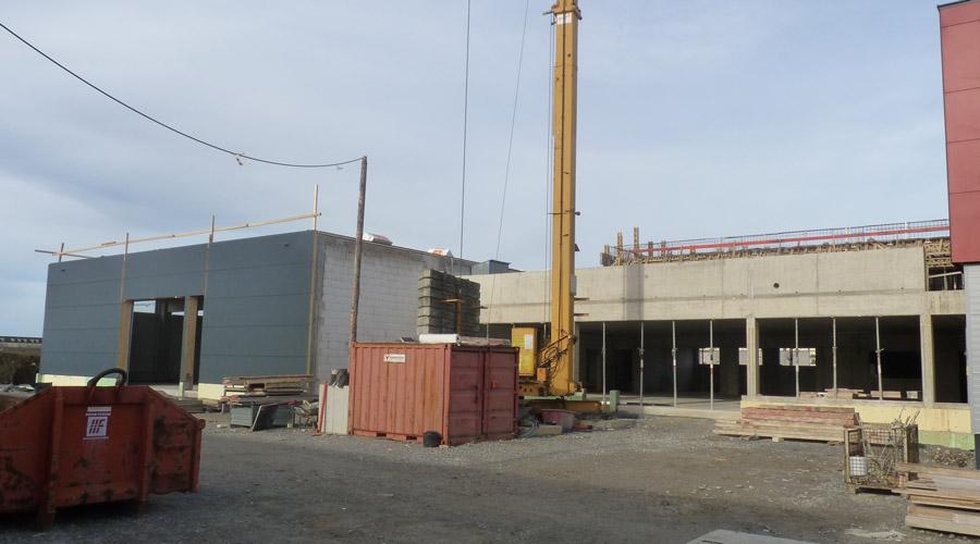 2013: Erweiterung der Produktion und Montagehalle
