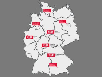 2014: Gründung weitere Standorte