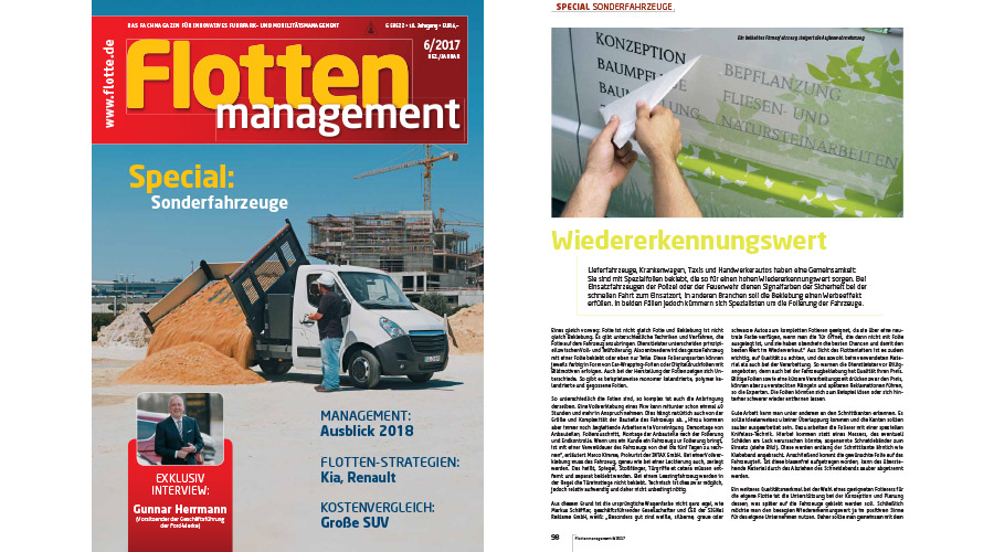 Flottenmanagement 06/2017: Wiedererkennungswert