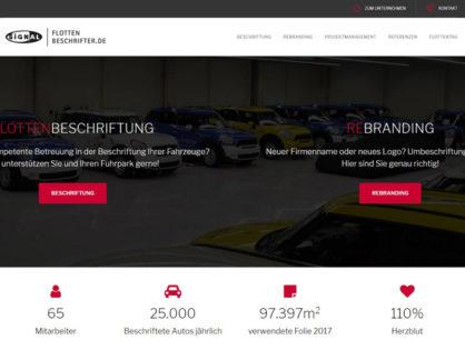 FLOTTENBESCHRIFTER.DE mit neuem Webauftritt