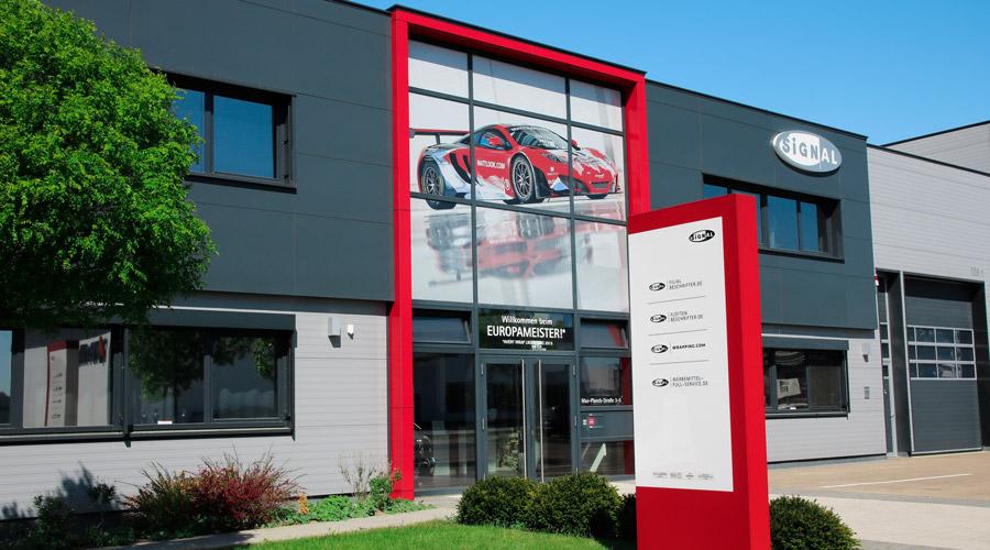 2018: SIGNal Reklame GmbH wird zur SIGNal Design GmbH