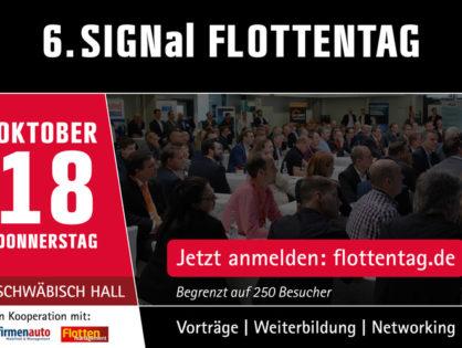 SIGNal lädt zum Flottentag 2018