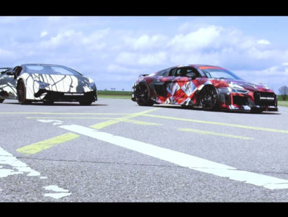 Imagefilm: ABT R8 Art Car vs. Lamborghini Huracan Performante Spyder