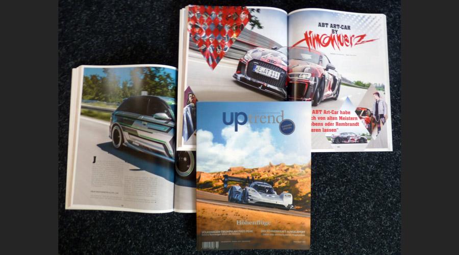 ABT Art-Car im Lifestyle-Magazin von ABT Sportsline
