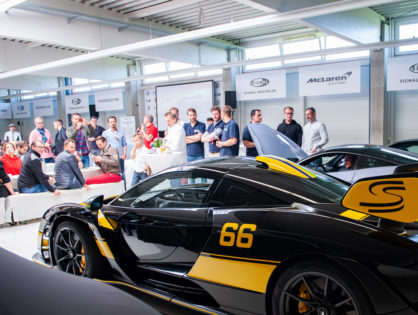Über 100 Sportwagen beim RT-Charity-Sportwagenfrühstück