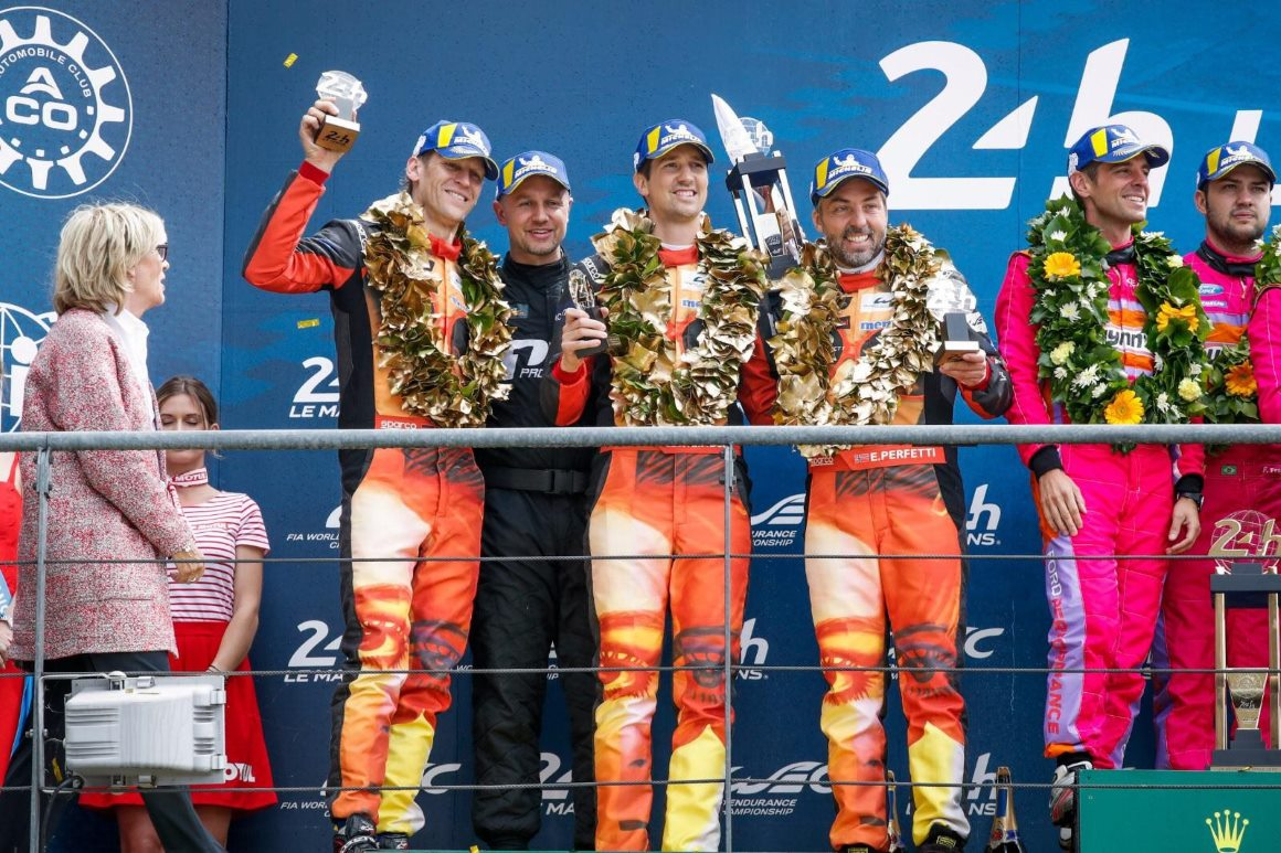 2019: Jörg Bergmeister fährt mit SIGNal-Design Art Car in Le Mans zum Sieg