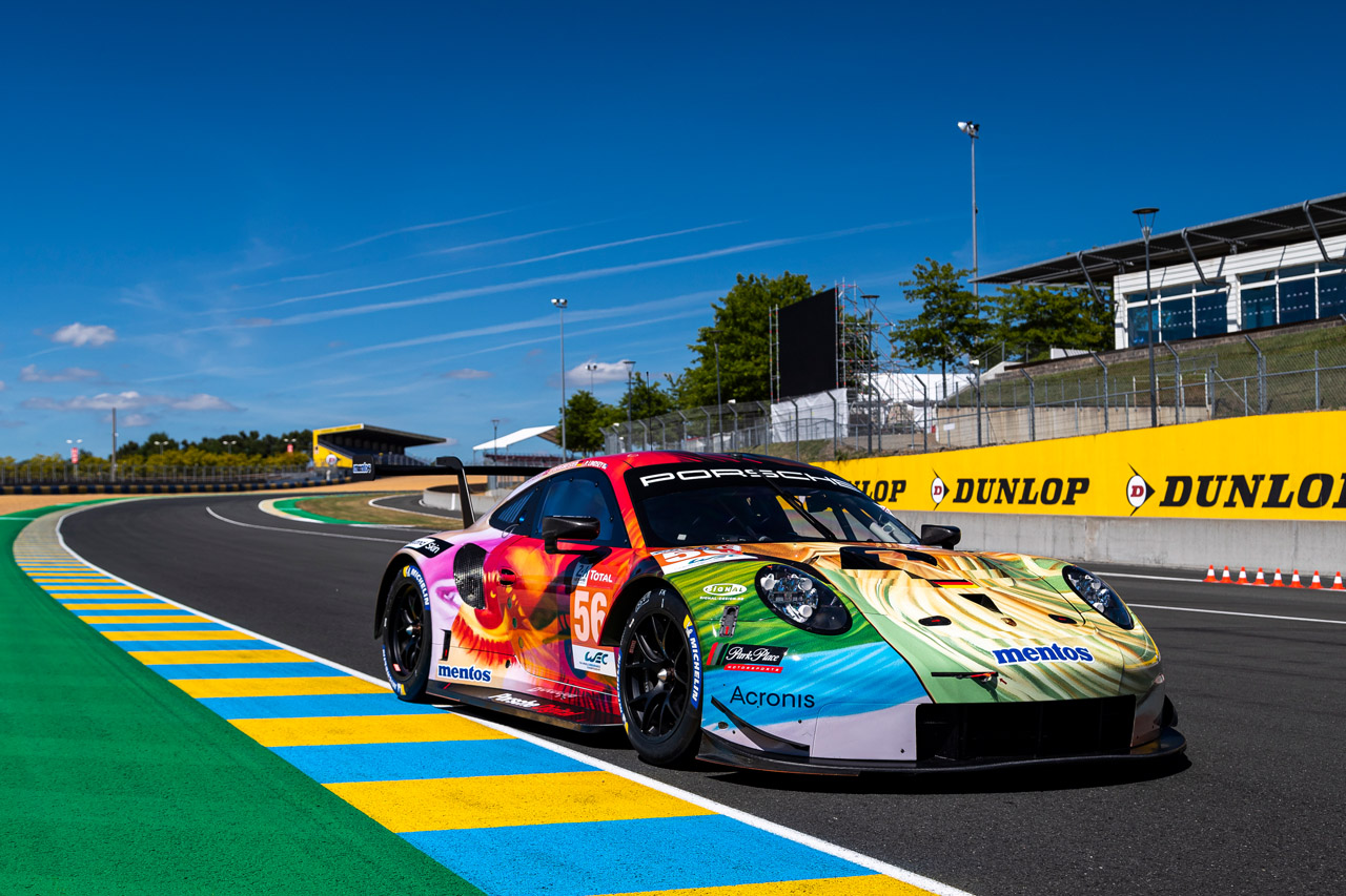 Enthüllt - das Project 1 Art Car in Le Mans