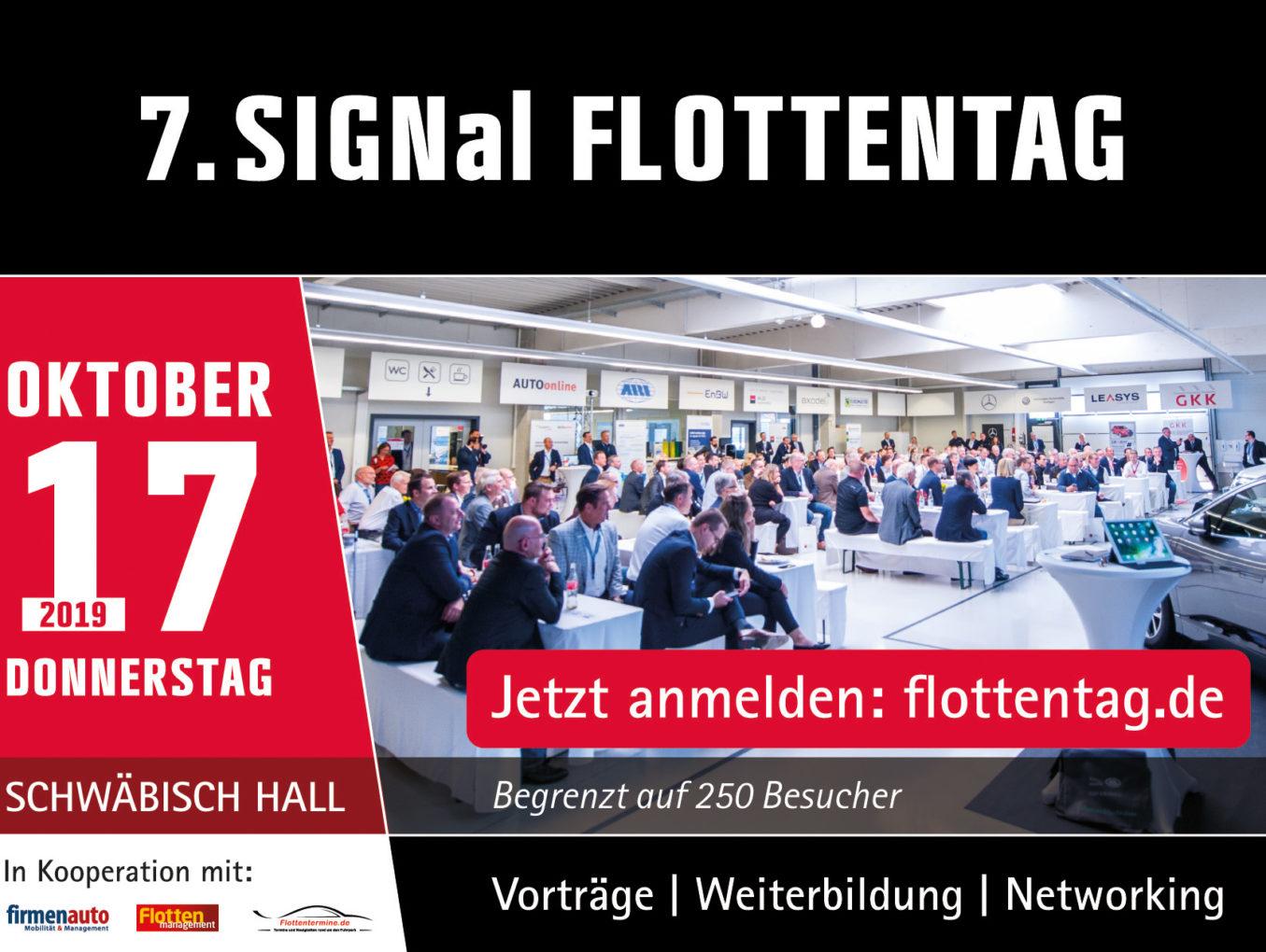 Stargäste beim 7. SIGNal Flottentag!: Felix Neureuther und Jörg Bergmeister