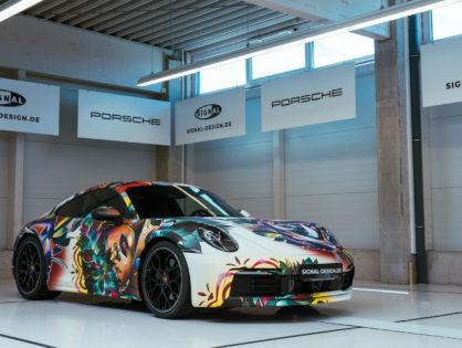 SIGNal Design verpasst neuem Porsche 992 Carrera ein Tattoo-Design