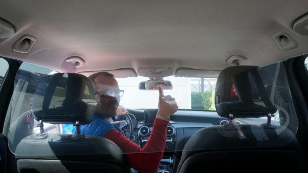 Taxi Trennscheibe