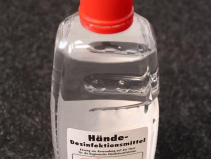 Desinfektionsmittel kaufen: Hand-Desinfektion von SONAX