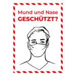 Mund und Nase geschützt?