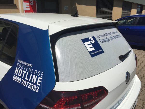 Fahrzeugbranding mit Windowgraphic