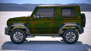Suzuki Jimny Camouflage Folie