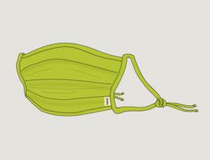 kiwi-gruen-maske