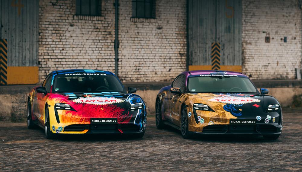 Porsche Taycan Designs