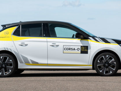 Opel Corsa-e Rally Design folieren